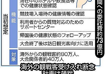海外客断念なのに…73億円「五輪アプリ」の見直し迷走中:東京新聞 TOKYO Web