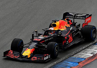 【速報】ホンダF1が1992年以来、27年ぶりのシーズン2勝目&ダブル表彰台。雨のドイツGPでフェルスタッペンが逆転勝利! | F1 | autosport web