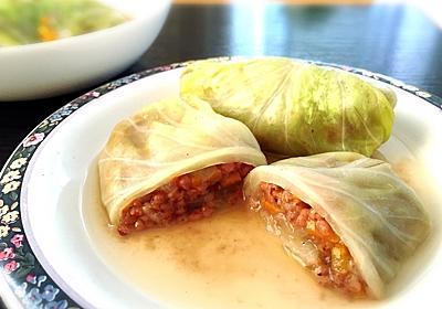 【雑穀料理】お箸で切れちゃう柔らかさ!とろとろロールキャベツの作り方・レシピ【高キビ】 - Tempota Blog