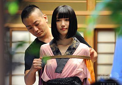 【写真特集】気鋭の緊縛師、「一鬼のこ」の世界ができるまで 東京 写真28枚 国際ニュース:AFPBB News