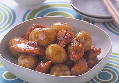 新じゃがと鶏肉のつやつや煮 | 阿部徳恵さんのレシピ【オレンジページnet】プロに教わる簡単おいしい献立レシピ