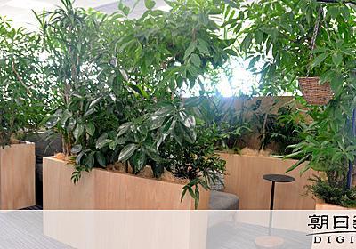 アマゾン新拠点、まるでジャングル? 囲碁机や礼拝室も:朝日新聞デジタル