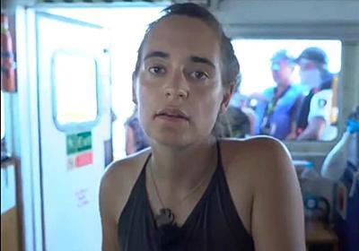 移民40人乗せた救助船、イタリアで入港を強行 船長は逮捕 写真10枚 国際ニュース:AFPBB News