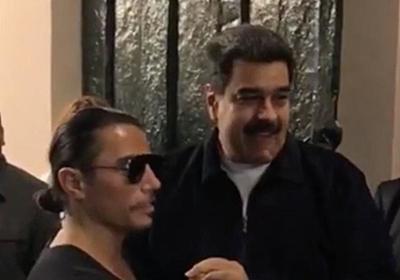 CNN.co.jp : ベネズエラ大統領に非難集中、「塩振りおじさん」の店で豪華な食事 - (1/2)
