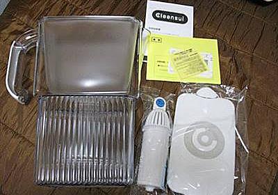 [ポット型浄水器 比較] ブリタとクリンスイ美味いのはどっちだ!   Tsuneの日々雑感