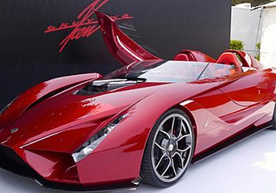 米国人を驚かせた超ド級の日本製スポーツカー、kode57が登場|自動車ニュース(高級車・スポーツカー)|GQ JAPAN