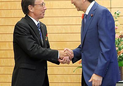 辺野古移設「変わらない」と安倍首相 玉城知事と初会談 - 沖縄:朝日新聞デジタル