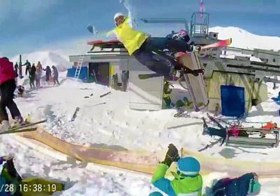 リゾート地のスキーゲレンデでリフトが高速で大逆走する事故が発生、勢いで投げ出されて10人が負傷 - GIGAZINE