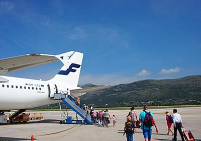 ちょこっとフィンランド&クロアチア旅「晴れ渡るドゥブロヴニク!旅の終わりの切なさを抱えて飛行機に乗り込む」 - 「暮らすように旅したい!」 旅のあれこれ ariruariru