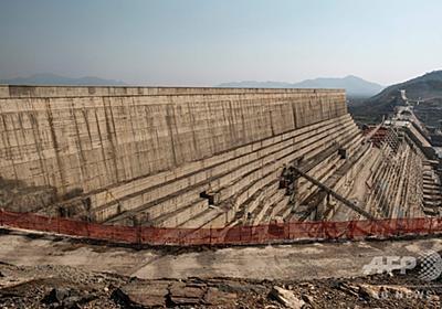 ナイル川の巨大ダム問題、注水延期で合意 写真5枚 国際ニュース:AFPBB News