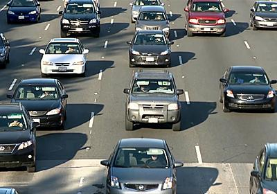 高速道路の追越車線をゆっくり走行することはスピード違反行為よりも有害 - GIGAZINE