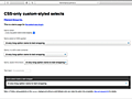 [CSS]フォームのselect要素の特徴を把握し、各ブラウザで一貫して美しく実装するスタイルシート -select-css   コリス