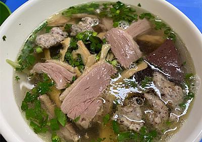 休日の朝食にベトナム料理を(ブンジウクアボー、ミエンガン) - ハノイ駄日記