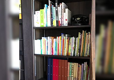 猫が次から次へと湧いて出てくる本棚が羨ましいったらない「思った以上に湧きだした」 - Togetter