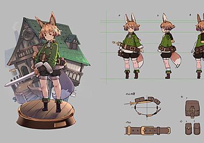 第1回:モデルのデザインと仕様 | Mayaで始めるゲーム用ローポリキャラモデル | AREA JAPAN