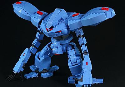 レゴで水陸両用MSの名機「ハイゴッグ」を製作 柔軟な両腕やハンドミサイルまで再現する技術に絶賛の声 - ねとらぼ