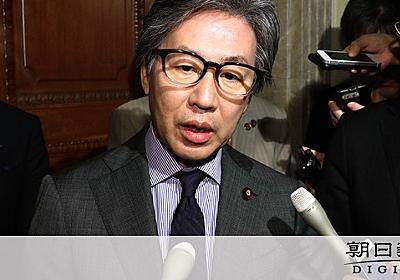 「もう一つ消えれば…我が党の時代」立憲・安住氏が発言:朝日新聞デジタル