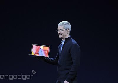 速報:新MacBook発表。12インチ2304x1440液晶、920gでファンレス、ポートはUSB TypeCのみ - Engadget 日本版