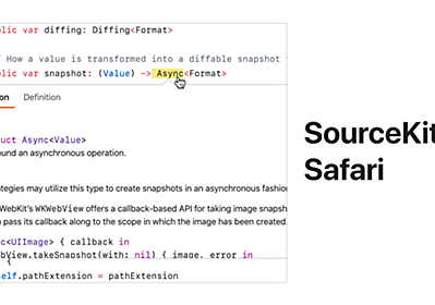 GitHub - kishikawakatsumi/SourceKitForSafari: SourceKit for Safari is a browser extension for GitHub, that enables IDE features on your browser such as symbol navigator, go to definition and documentation on hover.