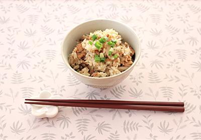 【簡単レシピ】秋冬の味覚、鯖(サバ)をお手軽に楽しむ。鯖缶の炊き込みご飯 - CharmyNote