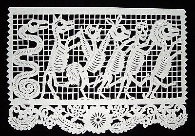 BibliOdyssey: Day of the Dead - Papercuts