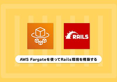 Fargate x Railsで考慮したassets配信・ログ・秘匿情報管理・モニタリングについて - ZOZO Technologies TECH BLOG