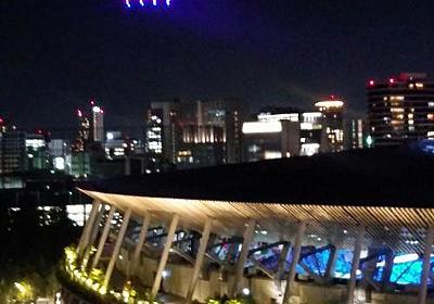 五輪開会式演出か? 会場に響く「ドラクエ」テーマ曲、闇夜のドローン大群 - 東京オリンピック2020 : 日刊スポーツ