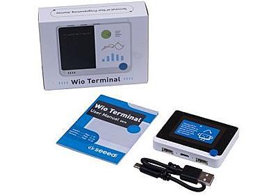 2.4インチLCD搭載し、ArduinoとMicroPythonコンパチ——小型IoTモジュール向け開発ボード「Wio Terminal」国内販売開始 | fabcross