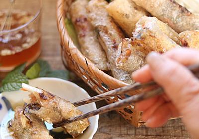 揚げたてはパリッパリ、冷めるとモッチリ食感の揚げ春巻「チャーゾー」のレシピ - メシ通 | ホットペッパーグルメ