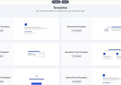 様々なタイプのHTMLメールの雛型をまとめた・「Coded Mails」 | かちびと.net