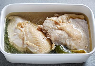 【年末年始、何食べる?】味付けは塩だけ、お鍋に放置「香味ゆで鶏」でチキンライスも鶏そばもウマい【Yuu】 - メシ通 | ホットペッパーグルメ