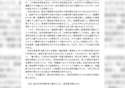 フラワーデモ参加者が山花郁夫議員(立憲民主党)の党要職辞任を求める理由は成り立つのか - Togetter