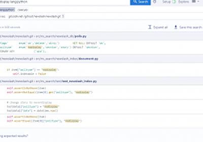 Gitリポジトリ上のソースコードをWebブラウザから検索・分析できるコード検索ツール「Sourcegraph」 | さくらのナレッジ