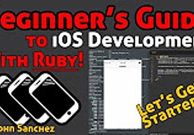 iOS Development in Ruby With RubyMotion - Learning the Basics - YouTube