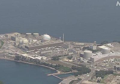 玄海原発 コロナ感染で中断していたテロ対策施設工事を再開 | NHKニュース