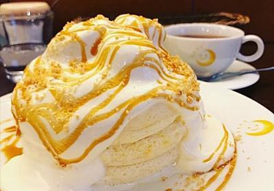 超美味しい…フワフワもっちりの極上パンケーキがヤバい♡ 北千住・茶香