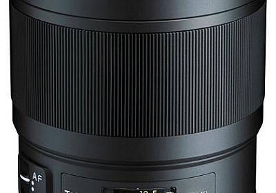 フルサイズミラーレスにもオススメ。トキナーの単焦点レンズ「opera 50mm F1.4 FF」。 - あーべんのカメラと戯言