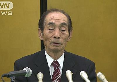 「心残りはありません」輿石参院副議長が引退表明|テレ朝news