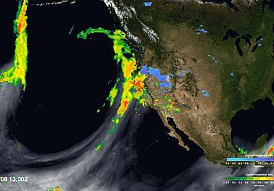 大気の中にある「見えない川」が干ばつや洪水を引き起こしていることをNASAが解明へ - GIGAZINE