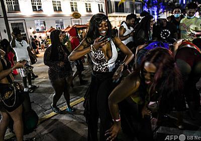 米マイアミビーチで非常事態宣言、人殺到で収拾つかず 写真3枚 国際ニュース:AFPBB News