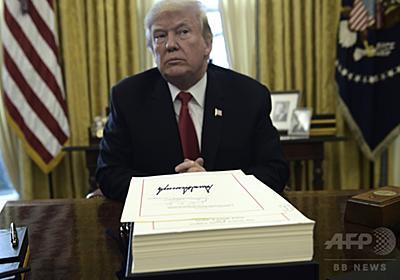読んだ文書は破り捨て…トランプ大統領の流儀に記録係困惑 写真1枚 国際ニュース:AFPBB News