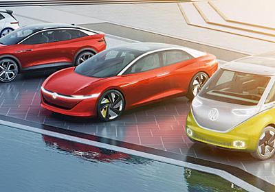 VWとテスラ、一致するEV差異化の方向性  :日本経済新聞