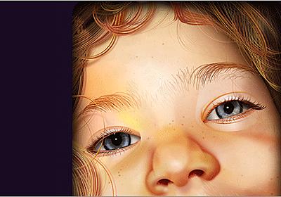 写真でもイラストでもない!全部CSSで実装されたリアルな肌の質感・髪・目・鼻に驚いた | コリス