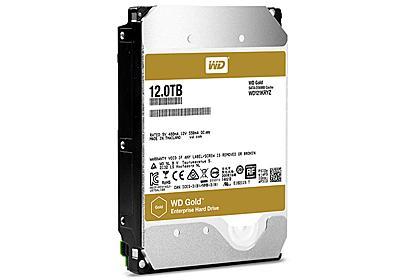 WDのサーバー向け12TB HDD「WD Gold」が国内販売  - PC Watch
