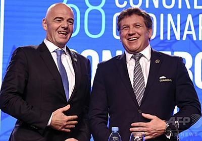南米サッカー連盟、W杯出場枠拡大の前倒し要求 2022年に 写真1枚 国際ニュース:AFPBB News