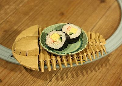 三葉虫に寿司を運ばせたい :: デイリーポータルZ