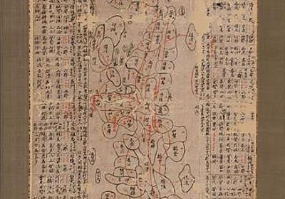日本列島ほぼ全域描く、最古級の地図発見 広島の博物館:朝日新聞デジタル