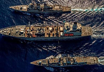 CNN.co.jp : 米英、南シナ海で異例の合同軍事演習