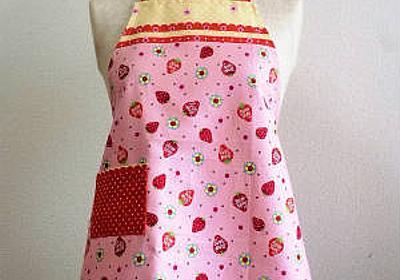 子ども用エプロンの作り方 - ぎんがむちっく 手作り子ども服や可愛い小物たち