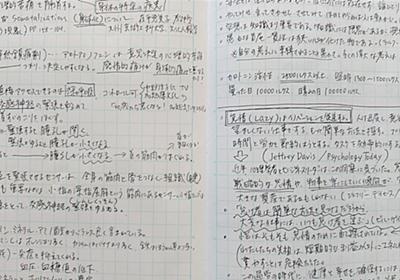 """「方眼ノート1冊に何でも書き留める習慣」のすごい効能。""""思考の足あと"""" が刻まれてゆく - STUDY HACKER これからの学びを考える、勉強法のハッキングメディア"""